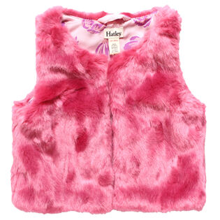 Baby Girls' [6-24M] Faux Fur Vest