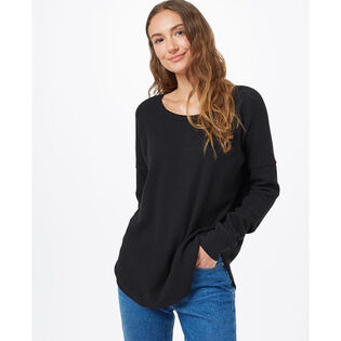 Women's TreeWaffle Crew Long Sleeve Top