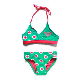 Girl's [2-6] Safari Bikini