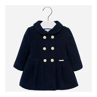 Baby Girls' [12-36M] Pleated Coat