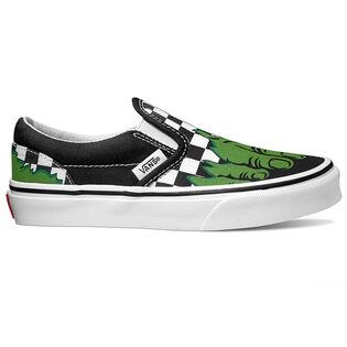 Juniors' [12-4] Hulk Classic Slip-On Shoe
