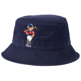 Unisex Polo Bear Chino Bucket Hat