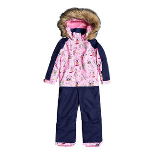 Girls' [2-7] Paradise One-Piece Snowsuit