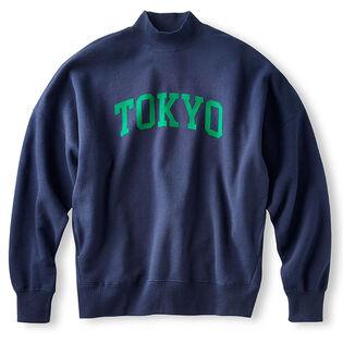 Women's Oversized Mock Fleece Sweatshirt