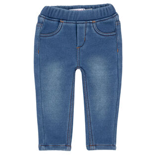 Baby Girls' [6-24M] Denim-Look Legging