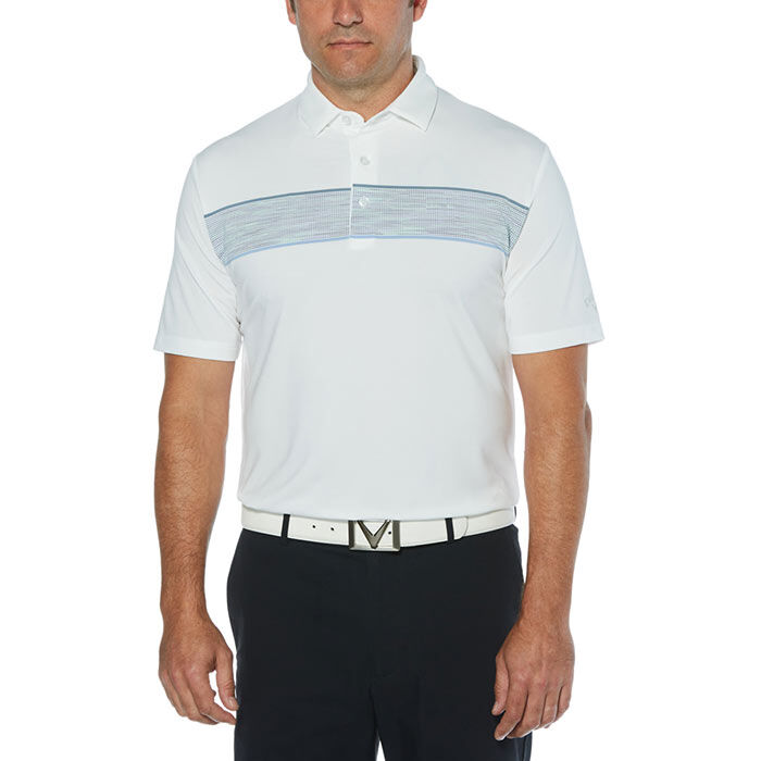 Men's Yarn-Dyed Engineered Oxford Polo