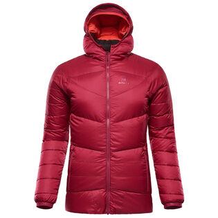 Manteau en duvet à capuchon pour femmes