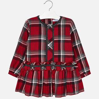 Robe à carreaux pour filles [3-6]