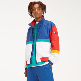 Men's Colourblocked Zip-Thru Jacket