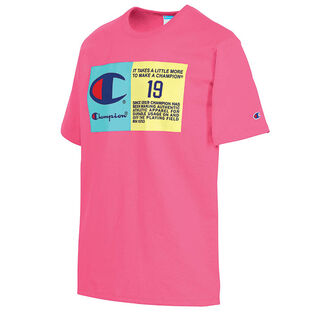 Men's Pop Colour Logo T-Shirt