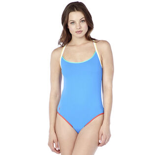 Maillot de bain une pièce à dos nageur pour femmes