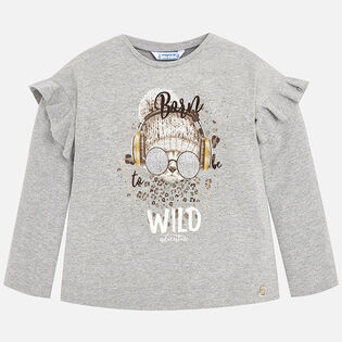 Girls' [3-6] Cat T-Shirt