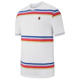 Men's Striped Tennis T-Shirt