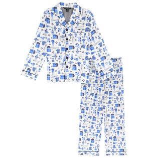 Ensemble pyjama deux pièces Ski Hill pour garçons juniors