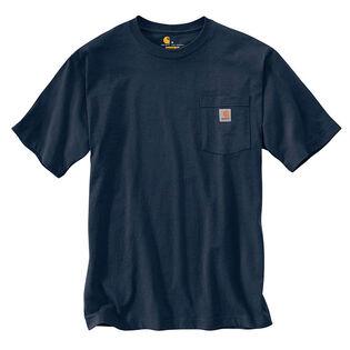 T-shirt de travail à poche poitrine pour hommes
