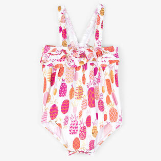 Baby Girls' [6-24M] Tropical Pineapple Ruffle One-Piece Swimsuit
