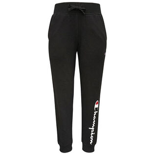 Junior Girls' [7-16] Script Logo Fleece Jogger Pant