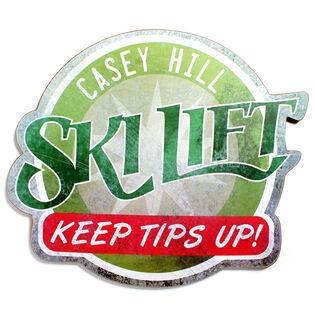 Casey Hill Ski Lift Sign