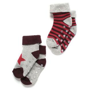 Unisex Baby's [3-9M] Socks (2-Pack)