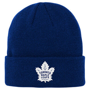 Juniors' [8-20] Toronto Maple Leafs Cuffed Knit Beanie