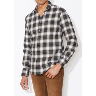 Men's Wire-Collar Check Shirt