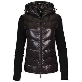 Women's Fleece Nylon Hybrid Jacket