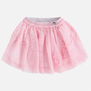 Girls' [3-6] Layered Tulle Skirt