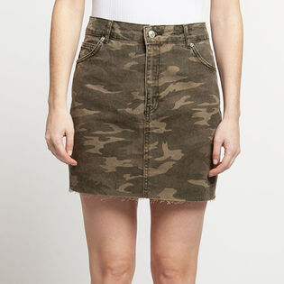 Women's Camo Mini Skirt