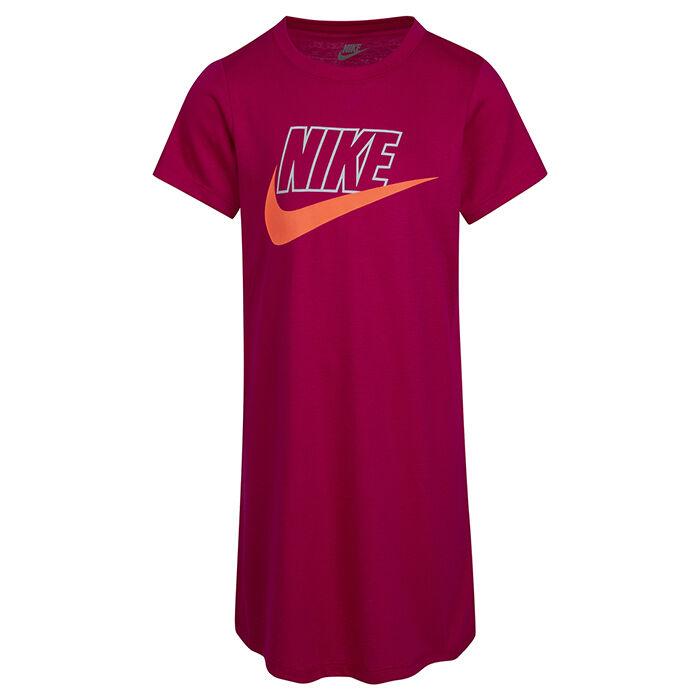 Girls' [4-6X] Glow-In-The-Dark Logo T-Shirt Dress