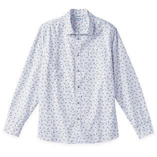 Chemise à imprimé floral pour hommes