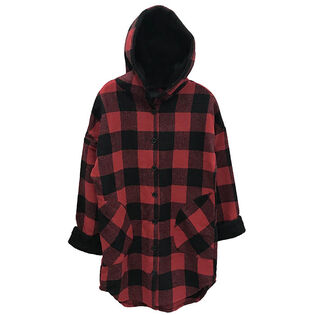 Women's Buffalo Check Flannel Jacket