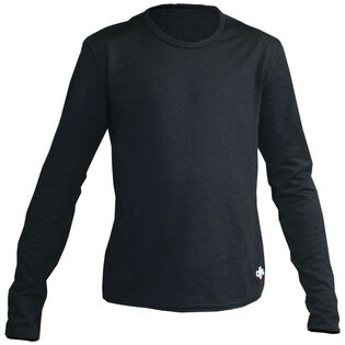 Juniors' Velvet Fleece Crewneck