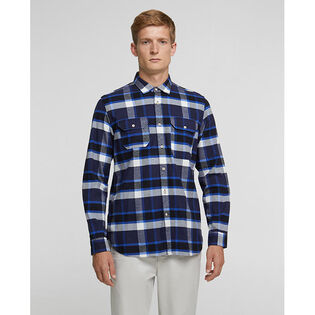 Men's Cotton Hunting Flannel Shirt