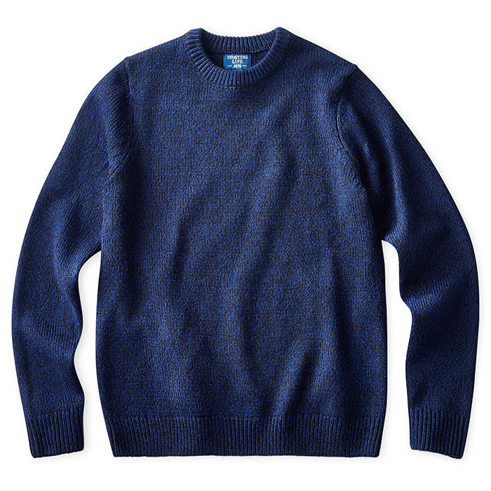 Men's Twisted Knit Crew Sweater