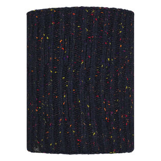Cache-cou Kim Night Blue en tricot et molleton