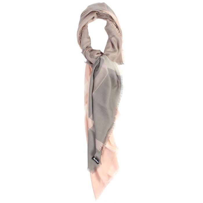 Foulard carré à tartan pour femmes
