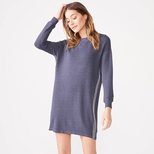 Women's Contrast Stitch Sweater Dress