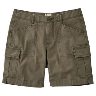 Women's Stretch Canvas Cargo Short