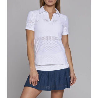 Women's Lace Tennis Polo