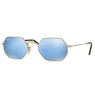 Octagonal Flat Sunglasses