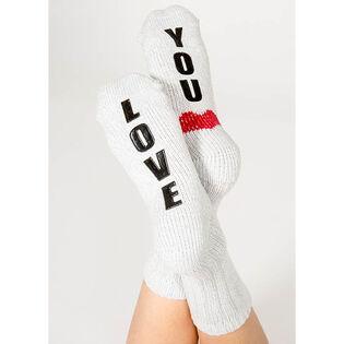 Women's I Love You Sock