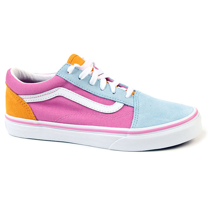 Juniors' [3.5-7] Colourblock Old Skool Shoe