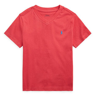 Boys' [5-7] Cotton Jersey V-Neck T-Shirt