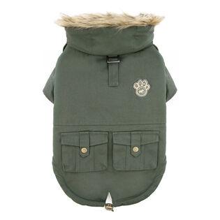 Army Parka Dog Jacket (Size 10)