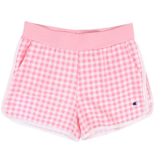 Junior Girls' [7-16] French Terry Gingham Short
