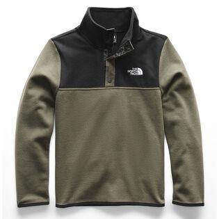 Junior Boys' [7-20] 1/4 Snap Fleece Sweater
