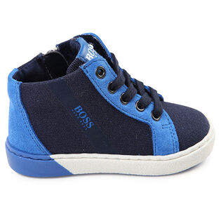 Babies' [5-9] Mixed High Top Shoe