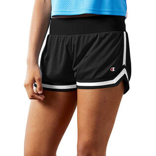 Women's Mesh Notch Short