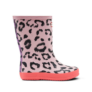 Kids' [8-12] Original First Classic Leopard Print Rain Boot