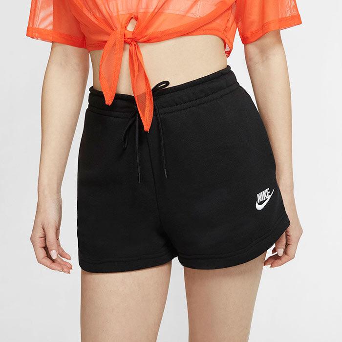 Short Sportswear Essential en tissu bouclette pour femmes